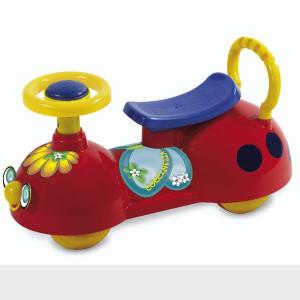 Primi passi cavalcabile Biemme Coccinella Rossa, gioco per bambini