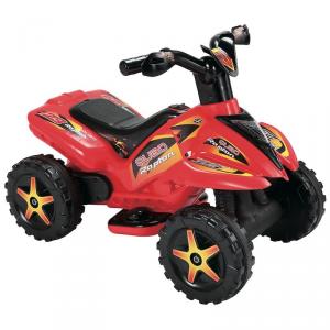 Mini Quad Elettrico Moto 6V per bambini Rosso