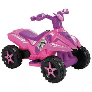 Mini Quad Elettrico Moto 6V per bambini Rosa by Biemme