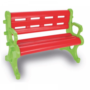 Panchina in plastica per bambini asilo o giardino