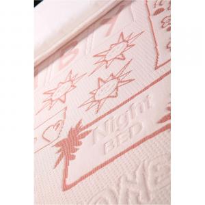 Materasso Lettino o Culla per Bambini alto 12 cm color Rosa + Cuscino ANTISOFFOCO su misura GRATIS con Fodera in Cotone Naturale, Rivestimento Sfoderabile con Zip e Lavabile in lavatrice, tessuto ANALLERGICO, Antibatterico, Antiacaro e Super Traspirante, Materassino Baby Ortopedico ideale per Letto Singolo Bambino o Culla Neonato, Materassi Evergreen - lastra in poliuretano, Schiuma Espansa ad acqua, water foam - Ecologico con Certificazione OEKO-TEX, 100% Made in Italy