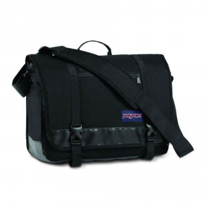 JANSPORT - Throttle -  Borsa Cartella Porta Pc con Tracolla  Nero cod. TZV0008