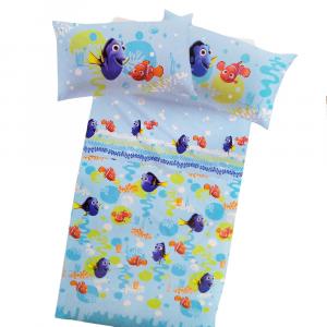 Set lenzuola Caleffi singolo 1 piazza Disney NEMO&DORY effetto copriletto
