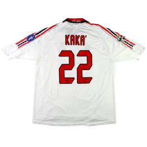 2005-06 Ac Milan Maglia Away XL #22 Kaka (Top)
