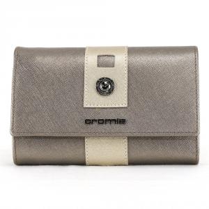 Woman wallet Cromia GLORIA 2620732 ACCIAIO