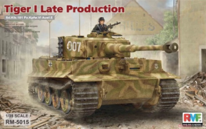 Sd.Kfz. 181 Pz.kpfw.VI Ausf. E Tiger I Late Production
