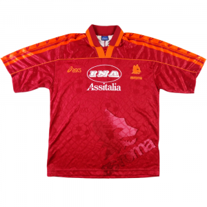 1995-96 AS ROMA MAGLIA HOME (TOP)