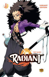 RADIANT volume 1 VARIANT EDITION