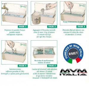 Peracetico per disinfezione e sterilizzazione Golmar (500gr)