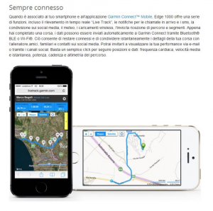 Garmin GPS EDGE 1000: Bici, MTB, corsa, triathlon (ANT+)