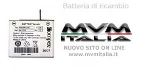 Batteria di ricambio Compex 1000mA (modelli recenti)