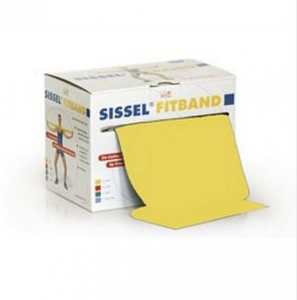 SISSEL® FITBAND giallo 14,5cm rotolo 25m, (leggero)