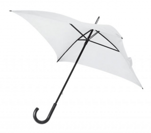 Ombrello Bianco da Sposa Quadrato cm.80x80x87h