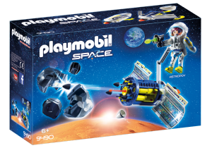 PLAYMOBIL SATELLITE DISTRUGGI METEORITI 9490