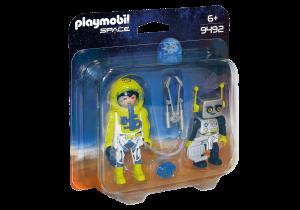 PLAYMOBIL ASTRONAUTA E ROBOT 9492