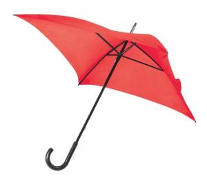 Ombrello quadrato rosso cm.80x80x87h