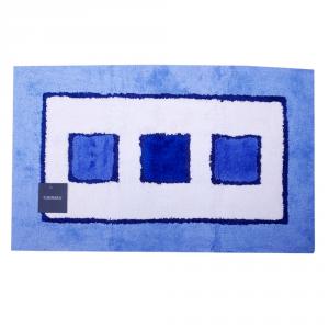 Tappeto da bagno in spugna di cotone 70x110 cm Carrara LINZ azzurro