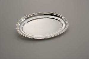 Vassoio ovale stile Inglese Sheffield cm.30x22