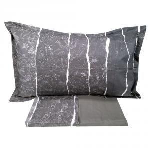 Set lenzuola matrimoniale 2 piazze DIESEL percalle EMBOSSED GRADIENT grigio