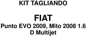 KIT TAGLIANDO FIAT PUNTO EVO - ALFA MITO