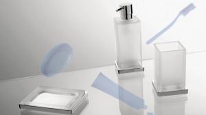 Dispenser da appoggio per il bagno serie Look Colombo design