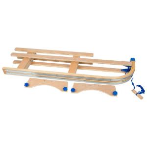 Slitta per bambini ripieghevole in legno