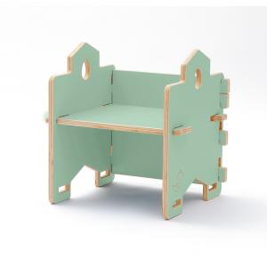 CasaCocò Poltroncina Libreria Impilabile Bicein legno di pioppio Cocò&Design Vari colori