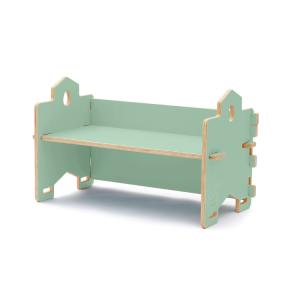 CasaCocò Panca Libreria Impilabile Cecco in legno di pioppio Cocò&Design Vari colori