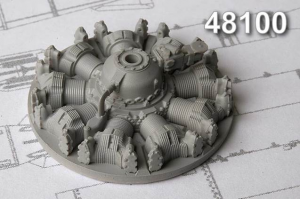 ASh-62 IR Radial piston engine (An-2 Hobby Boss)