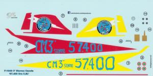 F-104G 3 Stormo Caccia ' 57.400 Ore C.M'