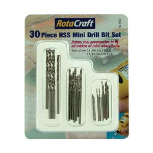 Mini drill bit set 30pcs