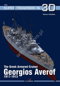 The Greek Armored Cruiser Georgios Averof 1911-1913