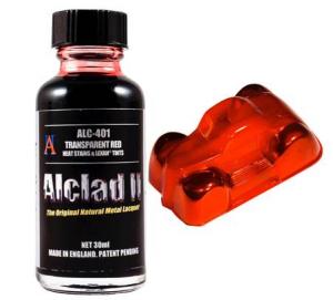 Transparent Red - Heat Stains & Lexan Tints -30 ml.