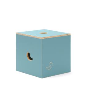 CasaCocò Sedia e Box Contenitore Duccio in legno di pioppio Cocò&Design Vari colori