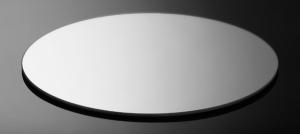 Specchio ovale da Tavola cm.35x35x0,2h