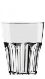 Bicchiere acrilico Trasparente ml 100 cm.10h diam.8,3
