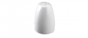 Contenitore Spargisale in porcellana Bianca 12 pezzi cm.7h diam.4,5