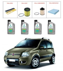 Kit tagliando per Fiat Panda 1.3 Multijet TOP QUALITY imp. Purflux