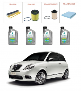 Kit tagliando per Lancia Ypsilon 1.3 Multijet TOP QUALITY