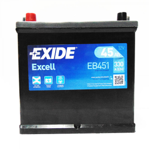 Batteria EXIDE 45Ah Sx - EB451 - 3661024034487