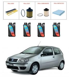 Kit tagliando per Fiat Punto 1.3 Multijet PREMIUM QUALITY imp. UFI