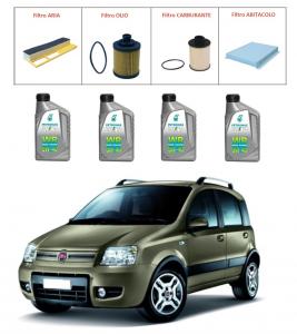 Kit tagliando per Fiat Panda 1.3 Multijet TOP QUALITY imp. UFI