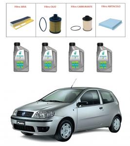 Kit tagliando per Fiat Punto 1.3 Multijet TOP QUALITY imp. UFI