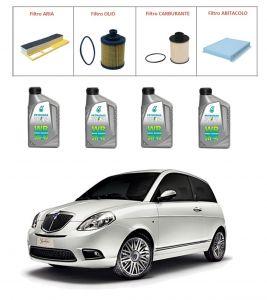 Kit tagliando per Lancia Ypsilon 1.3 Multijet TOP QUALITY imp. UFI