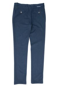 Pantalone blu con microfantasia Verdera