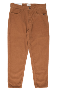 Corduroy trousers narrow burnt Amish color