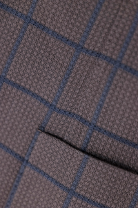 Giacca a quadri in lana Verdera