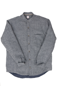 Tar Milano gray wool down jacket