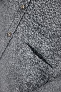 Piumino in lana grigio Tar Milano