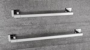 Porta salviette per il bagno cm 39 serie Basic Q Colombo design